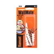 Ramset Nylon WallMate Anchor - 4 Pack