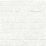 Superfresco Easy Paintable 52cm x 10m Urban Brick Wallpaper