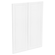 Kaboodle 900mm Vanilla Essence Heritage Medium Pantry Doors - 2 Pack