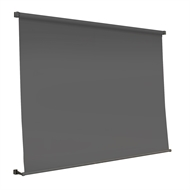 Windoware 2100 x 2100mm Black Sunscreen Retractable Outdoor Blind