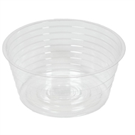 Eden 102mm Clear Vinyl Plastic Pot Liner