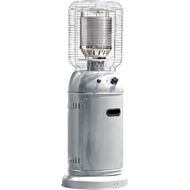 Fiammetta 126 x 46 x 46cm Silver Outdoor Patio Heater