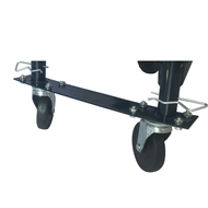 Hand Trolley 200kg Black Multipurpose Adjustable Upright Trolley