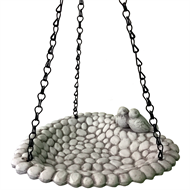 Gardman Love Birds Ceramic Hanging Bird Bath