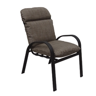 Hartman Aluminium Midback Sandhurst Chair With Cushion