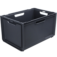 Ezy Storage 66L Grey Bunker System Crate