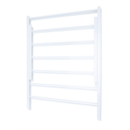 Flexi Storage White 7 Runner Basket Frame