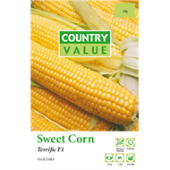 Country Value Terrific Sweet Corn Vegetable Seeds