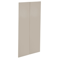 Kaboodle 900mm Shimmer Metallic Modern Pantry Doors - 2 Pack