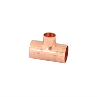 Kinetic 20 x 20 x 15mm Copper Capillary Reducing Tee
