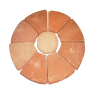 Chapala Chimenea Fire Base 9 Tile