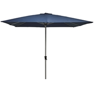 Marquee 3m Blue Square Jasper Market Umbrella