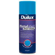 Dulux Metalshield 300g High Gloss Blue Epoxy Enamel Spray Paint