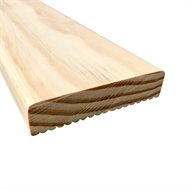 90 x 22mm  Premium Grade H3 Micropro Treated Pine  Decking - Linear Metre