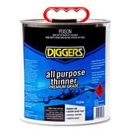 Diggers 4L All Purpose Thinner