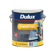 Dulux Rapid Finish 4L Low Sheen Deep Base Exterior Paint