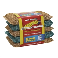 Mr Clean Tuffmates Action Scrubs - 5 Pack