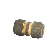 Kinetic 15C x 15C Brass Compression Union