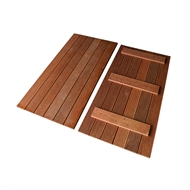 Good Times 1113 x 555mm Merbau Modular Decking Panel