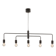 Brilliant Lighting Black Nico DIY Pendant Light