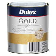 Dulux 500ml Design Gold Effect Paint