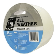 Bear 48mm x 25m Clear All Weather Tape