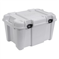 Ezy Storage 80L White Bunker Heavy Duty Tub