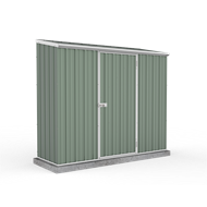 Absco Sheds 2.26 x 0.78 x 1.95m Space Saver Single Door Shed - Pale Eucalypt