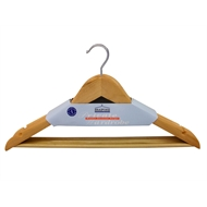 Braiform Australia 440mm Wooden Clothes Hangers - 4 Pack