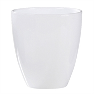 Scheurich 13 x 15cm White Evergreen Orchid Indoor Pot