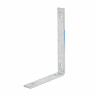 Zenith 200 x 150 x 25 x 5mm Galvanised Angle Bracket