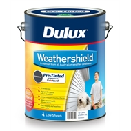 Dulux 10L Weathershield Ironstone Low Sheen