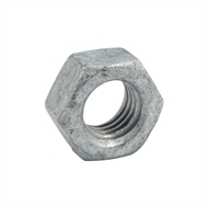 Zenith M10 Galvanised Metric Hex Nut - 50 Pack