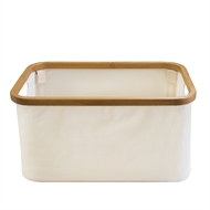 Hills Foldable Bamboo Laundry Basket - Natural