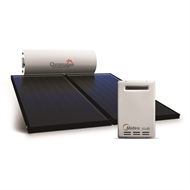 Chromagen Solar HW RoofLine - Tank: 300L / Collector: 2 x Flat Plate / Aux Boost: 20L NG
