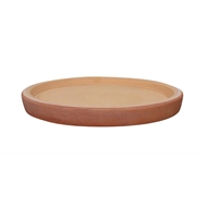Northcote Pottery Terracotta CottaSEAL Round Saucer - 250mm