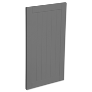 Kaboodle 400mm Smoked Grey Country Cabinet Door