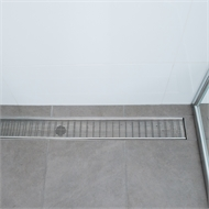 Grates 2 Go 75mm 304 Grade Stainless Steel Custom Wedge Wire Shower Grate