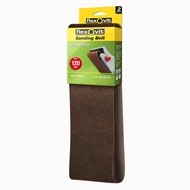 Flexovit 50 x 686mm 120 Grit Sanding Belt - 2 Pack
