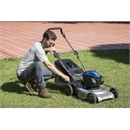Victa 82V Power Cut Mulch Or Catch Lawn Mower With Battery