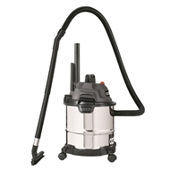 Ozito 1250W 12L Stainless Wet and Dry Vacuum
