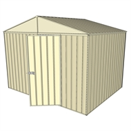 Build-a-Shed 3.0 x 2.3 x 2.3m Gable No Side Doors Shed - Cream