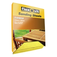 Flexovit 230 x 280mm 120 Grit Timber Sanding Sheet