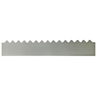 GumLeaf 1200mm Colorbond Metal Corrugated Gutter Guard - Zinc