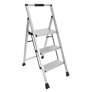 Bailey 100kg 3 Step Slimline Aluminium Step Stool