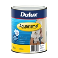 Dulux Aquanamel 1L White High Gloss Enamel Paint