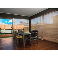 Bistro Blinds Outdoor Shade Blind - 2700mm x 2400mm Stone