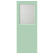 Hume 2040 x 720 x 40mm G1 Duracote Glass Opening Entrance Door