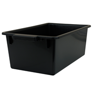 Handy Storage 41L Black Recycling Crate