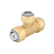 SmarteX P 20 x 20 x 16mm Push Fit Brass Pex Tee
